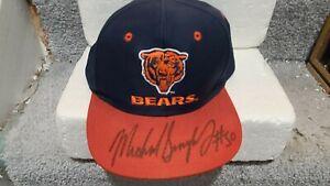 Chicago Bears Michael Singletary HOF Signed Baseball Hat