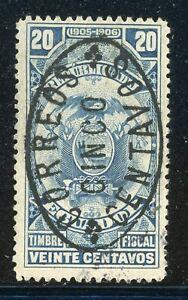 ECUADOR Used Selections: BERTOSSA #154 5c/20c Blue $$$