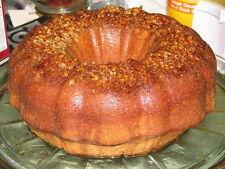 Golden Rum Cake - Homemade