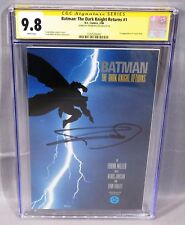 BATMAN: THE DARK KNIGHT RETURNS #1 Frank Miller Signed 1st Print CGC 9.8 DC 1986