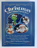 Christmas Television Favorites 4 DVD disc set Grinch Frosty Rudolph Rankin Bass