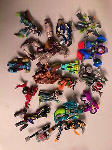 Lot of Transformers for parts beast wars and more Hasbro