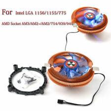 For Intel AMD AM2/3 POP/LGA775/1155 2200rpm Cooler Cooling Heatsink CPU Case Fan
