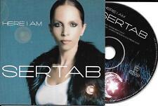 CD CARTONNE CARDSLEEVE SERTAB (EUROVISION) HERE I AM 2T DE 2003
