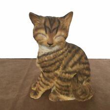 Munro 1995 Classic Cat Bengal Figurine Mc30190 Vtg 6.5 in Tall Matte Large C-1