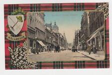 Glasgow,Scotland,U.K.Buchanan Street,MacGregor Tartan Border with Crest,c.1909