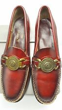 Vintage 1960s Loafers Moccasin 7 AA Kampus Kix by Miss Sandler Medallion Bengal