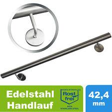 Edelstahl Handlauf V2A 500-2000mm Geländer Treppe Griff