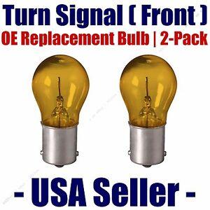Front Turn Signal/Blinker Light Bulb 2pk- Fits Listed Isuzu Vehicles - 1156A