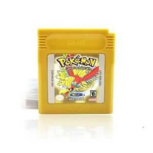 All Classic Pokemon Gold Version Yellow Pikachu Edition Green Gameboy Video Game