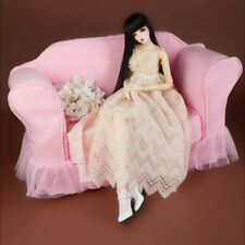 [Dollmore] Sofa cover Model doll size - Romaellie Fabric Double Sofa Cover (Pink