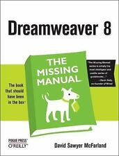 Dreamweaver 8: The Missing Manual, David Sawyer McFarland, 0596100566, Book, Acc