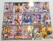 1996 AFL SELECT SERIES 1 WEST COAST EAGLES TEAM SET 13 CARDS + BONUS FUTURE STAR