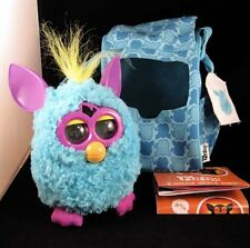 Teal Furby Fashion Carrier Tote Bag Backpack W/Interactive Furby Rare