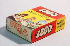LEGO Set 214 Legosystem Bausteine Box original 60er Jahre mit Karton