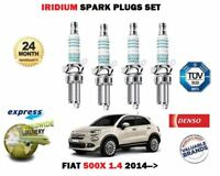 Per Fiat 500X 1.4 2014- > Nuovo Candele Accensione Iridio Set