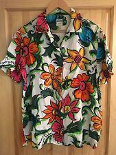 Vintage MOSCHINO Floral Shirt.....(Hawaiian, 80s, Casual, 90s, Summer, Festival)