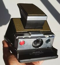 Polaroid SX-70 alpha 1 BC camera vintage TESTED & WORKING new leather skin