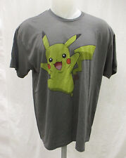 Pokemon Men 2XL Pikachu Graphic T Shirt Officially Licensed Slate Pokemon GO P3