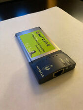 New listing Netgear Fa411 Pcmcia Mobile Adapter 10/100 Mbps - Tested Works Great