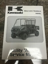 09 10 11 12 13  KAWASAKI MULE 4010 4X4 DIESEL VEHICLE SERVICE REPAIR MANUAL