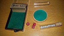 Gioco da tavolo (mini) PISTE 421 made in France  Mai usato