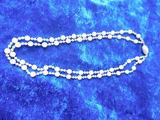 Edle Perlenkette __mit 925 Silber (Magnetversch)__schöne Perlen (2 Farben)_!