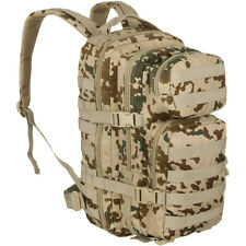 Assault Army Pack Tactical MOLLE Backpack Military Rucksack 20L BW Tropical Camo