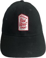 Red Roof Inns  Black Trucker Hat Baseball Cap Sleep Cheap Uniform Employee Work