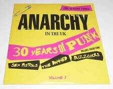 ANARCHY IN THE UK : 30 YEARS OF PUNK - PROMO CD ALBUM CARD SLEEVE (SUNDAY TIMES)