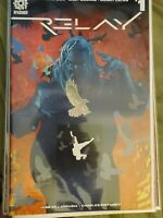 Relay #1 B Variant (2018) NM AfterShock Comics Donny Cates 1st Print