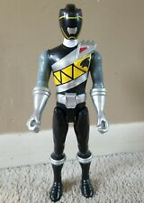 "Power Rangers Dino Charge 12"" Black Ranger Action Figure (Bandai, 2015)"