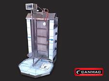 CANMAC 4 BURNER DONER KEBAB MACHINE TOP MOTOR