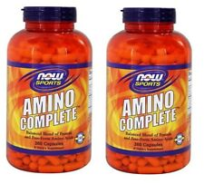 NOW Foods Amino Complete, 360 Capsules-2 Pack