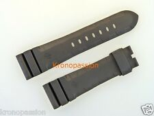Panerai Black Rubber Strap For Luminor 47mm Long Size New !