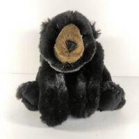 "Ditz Design Black Bear Plush 15"" Stuffed Animal Hen House"