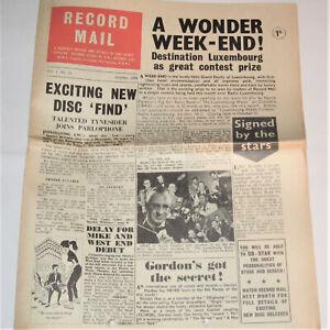 RECORD MAIL 1.10 EMI Oct 1958 Oh Boy Jodie Sands Line Renaud Cliff Richard John