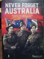 Never Forget Australia DVD is a collection of 6 Australian WW1 Stories