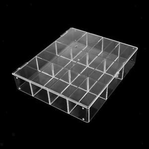 Clear Acrylic Display Case Box Dustproof Protection for Mini Figures Holder
