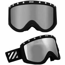 SABRE SNOW GOGGLES Snowboarding Ski Skiing Black Lens SN1005A +  FREE 2ND FRAMES
