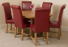 Dining Room Oval 7 Pieces Table & Chair Sets