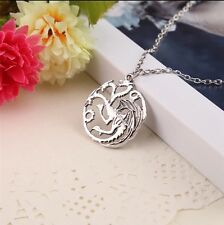 Dinosaur Pendant Necklace Skyrim Elder Scrolls Dragon Pendants Vintage Necklace