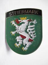 Steiermark Wappen Metall Magnet Souvenir Austria Österreich