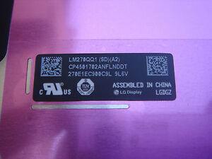 "Bildschirm Komplett Apple IMAC 27 "" A1419 Spät 2014 Retina 5K LM270QQ1-SDA2+"