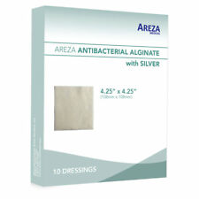 """Silver Alginate (Calcium Alg. with Ag) 4.25""""x 4.25"""" Box of 10 (5% Off>20 Boxes)"""
