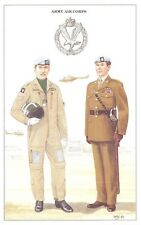 Postcard British Army Series No.63 Army Air Corps by Geoff White