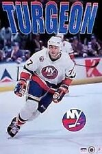 1993 Pierre Turgeon New York Islanders Original Starline Poster OOP