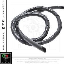Gaine spirale de 10 mm noir bobine