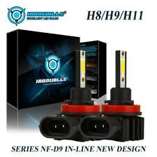 NF-D9 H11 H8 H9 LED Headlight Kit 2200W 330000LM Beam Hi/Lo Bulbs/Fog Lamp 6000K