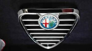 Alfa Romeo 105 series 1750 Berlina Chrome Centre Heart Shaped Grille*